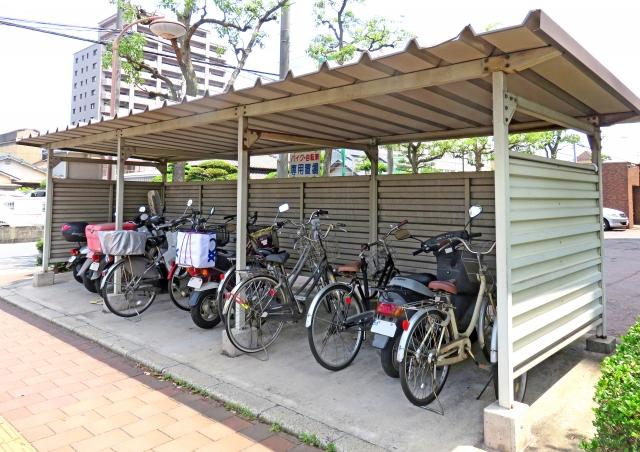 アパートにバイクを停めたい!駐輪場に停めてもいいのか?