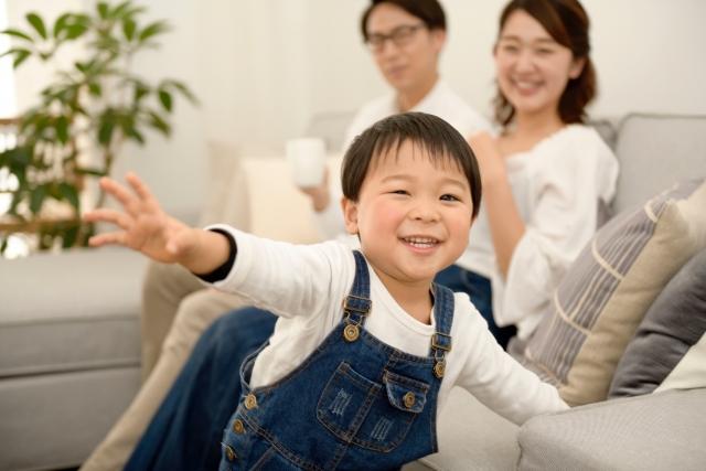 アパートのリビングを快適にするアイデア!子供がいる場合