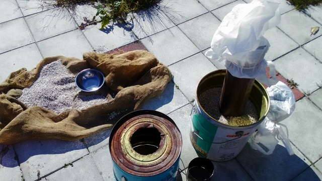 改良用土パーライトはモルタルと配合すれば建材としても!