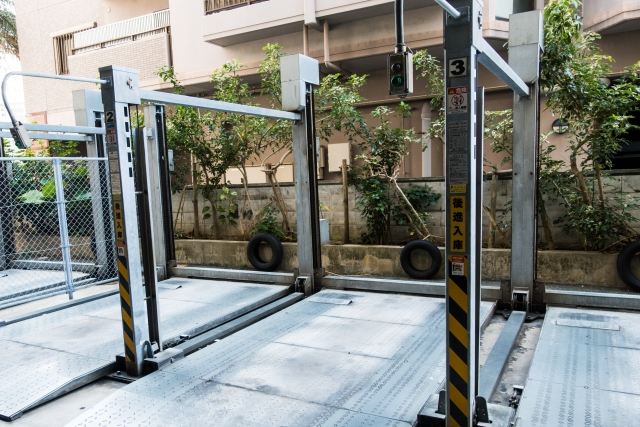 マンションの駐車場が機械式の場合!種類や特徴・注意点は?