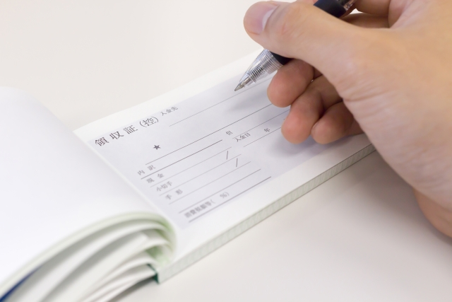 家賃の領収書を発行の際の注意点!但し書きはどう書くの?