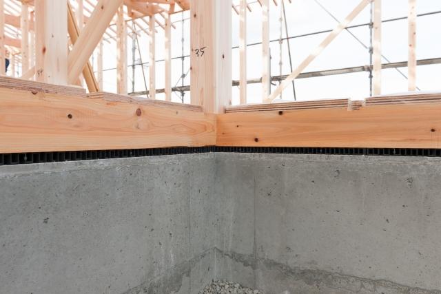 木造住宅を建てるなら!土台に使うパッキンについても知ろう