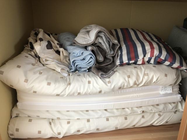 【納戸収納術】布団を賢く収納しよう!納戸の清潔さが重要!